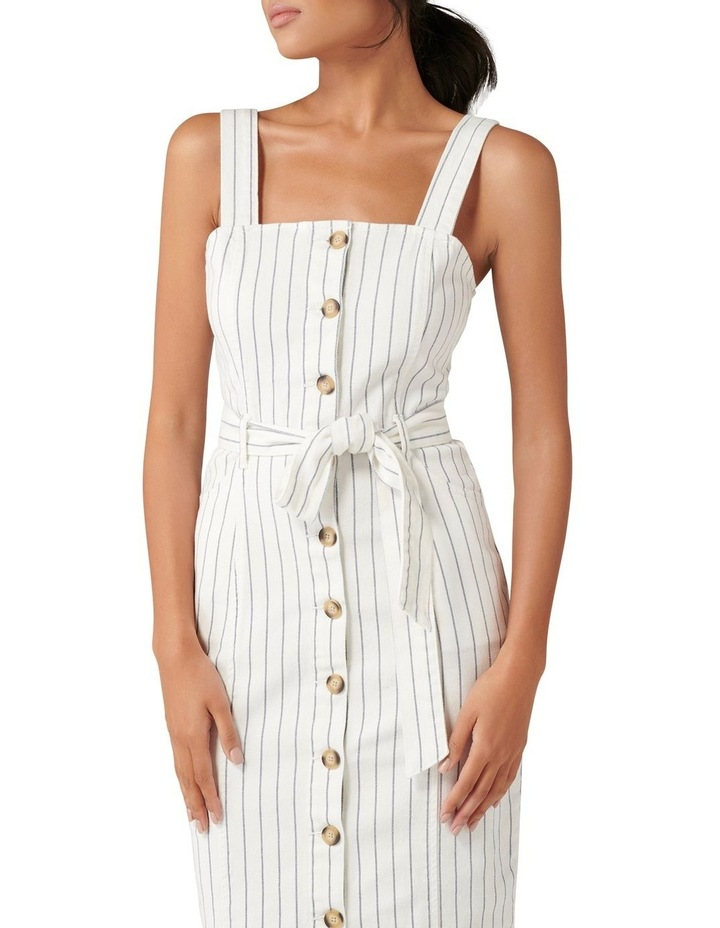 Drew Button Down Stripe Denim Dress image 2