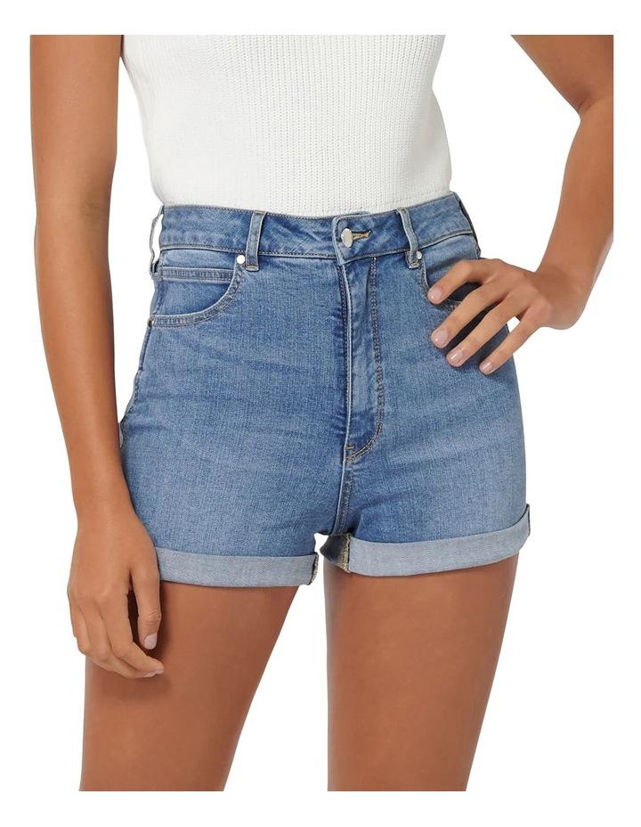 Florida High Rise Denim Shorts image 1