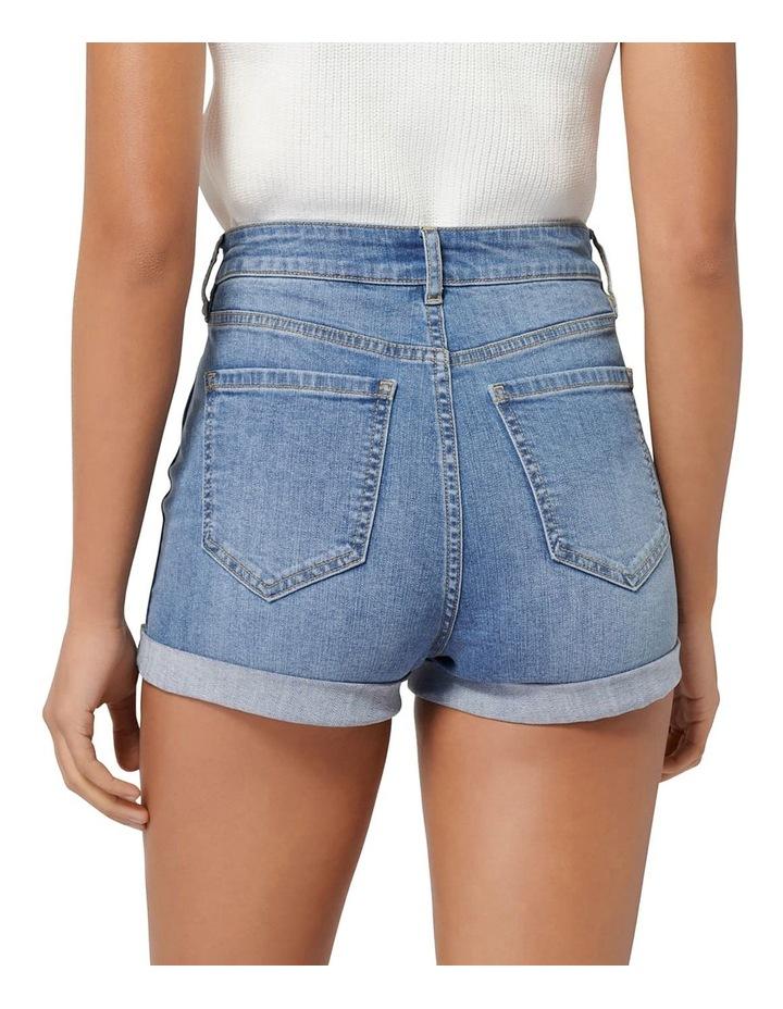 Florida High Rise Denim Shorts image 3