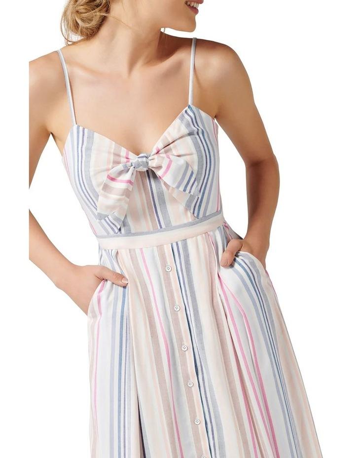 Mya Tie Front Button Through Dress image 2