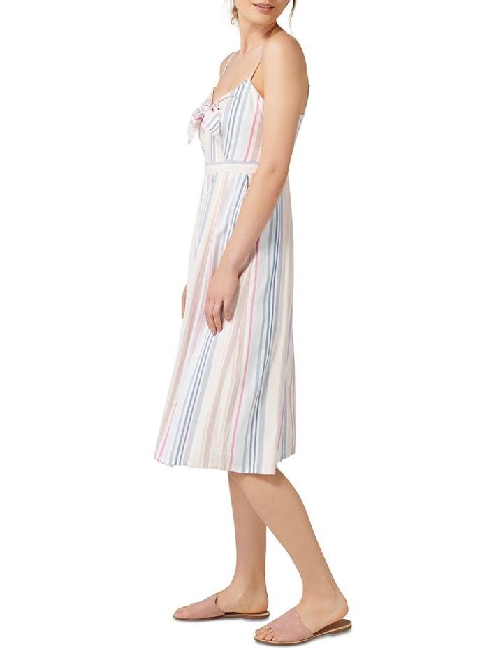 Mya Tie Front Button Through Dress image 3