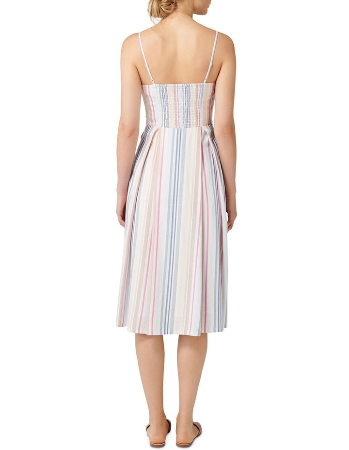 Mya Tie Front Button Through Dress image 4