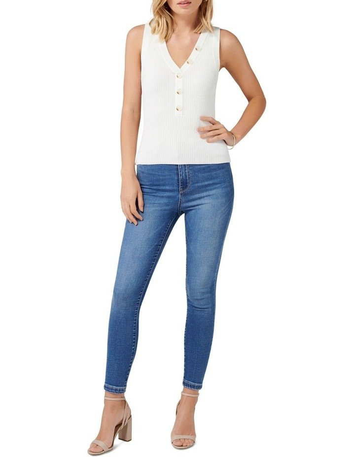 Larisa Button Up Knit Tank image 4