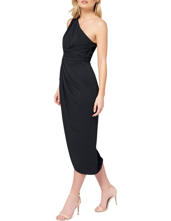 Mandy One Shoulder Drape Maxi Dress image 3