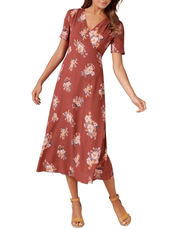 Wendy Ditsy Midi Dress image 1