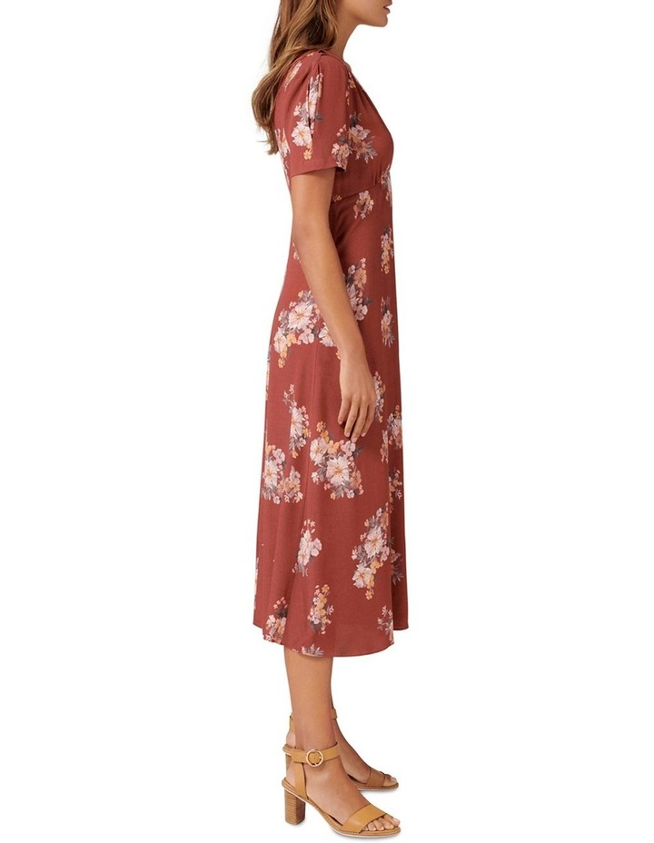 Wendy Ditsy Midi Dress image 3