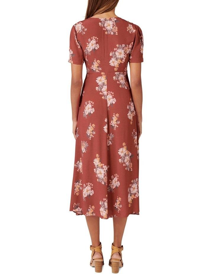 Wendy Ditsy Midi Dress image 4