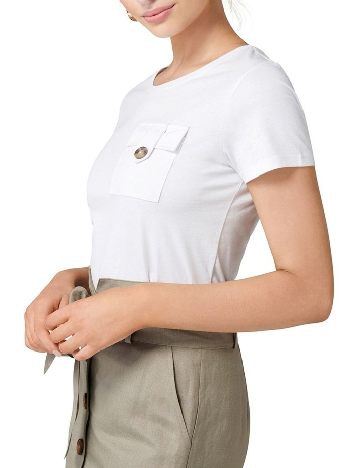 Ellsie Military Pocket Tee image 2