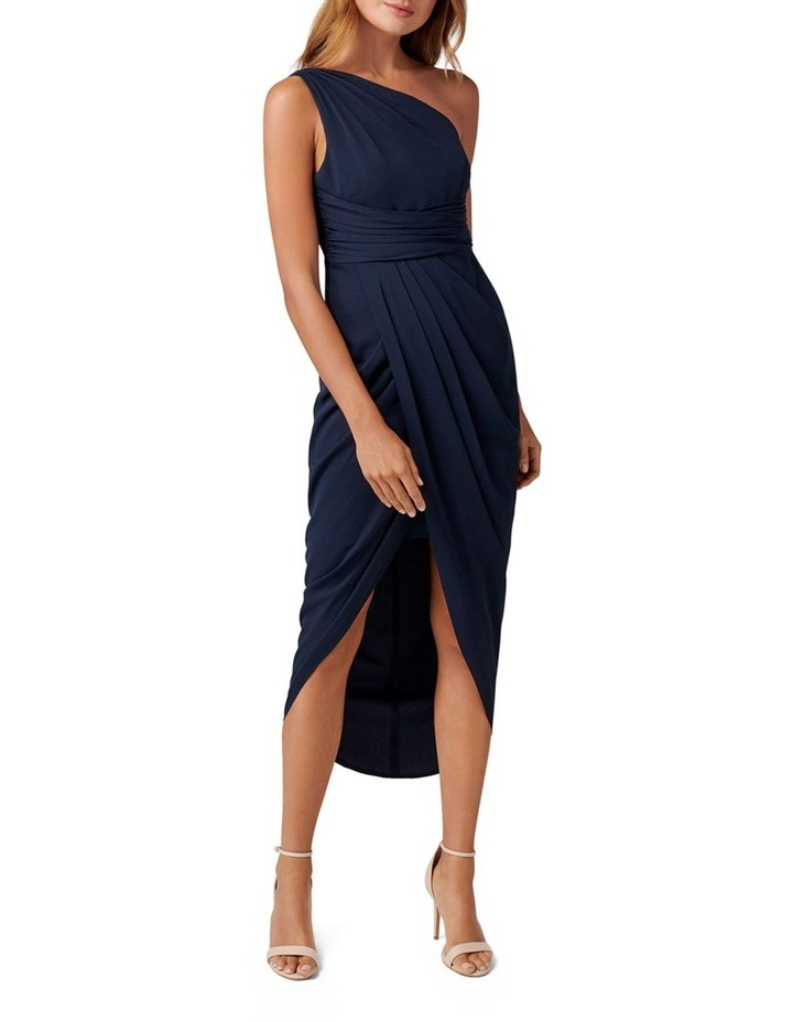 Mandy Petite One Shoulder Drape Maxi Dress image 1
