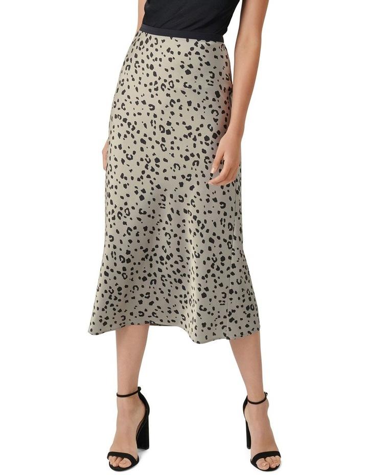 Bobbie Satin Slip Skirt image 1