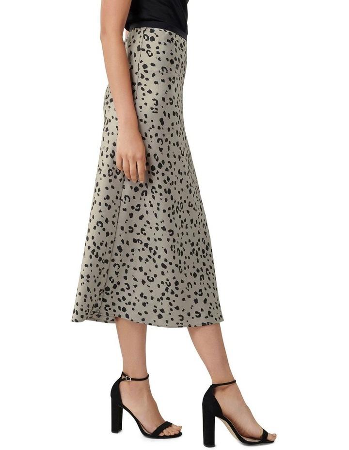 Bobbie Satin Slip Skirt image 2