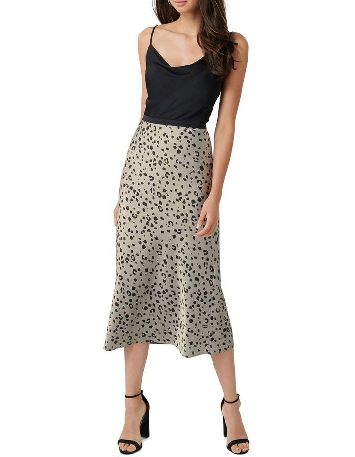 Bobbie Satin Slip Skirt image 4