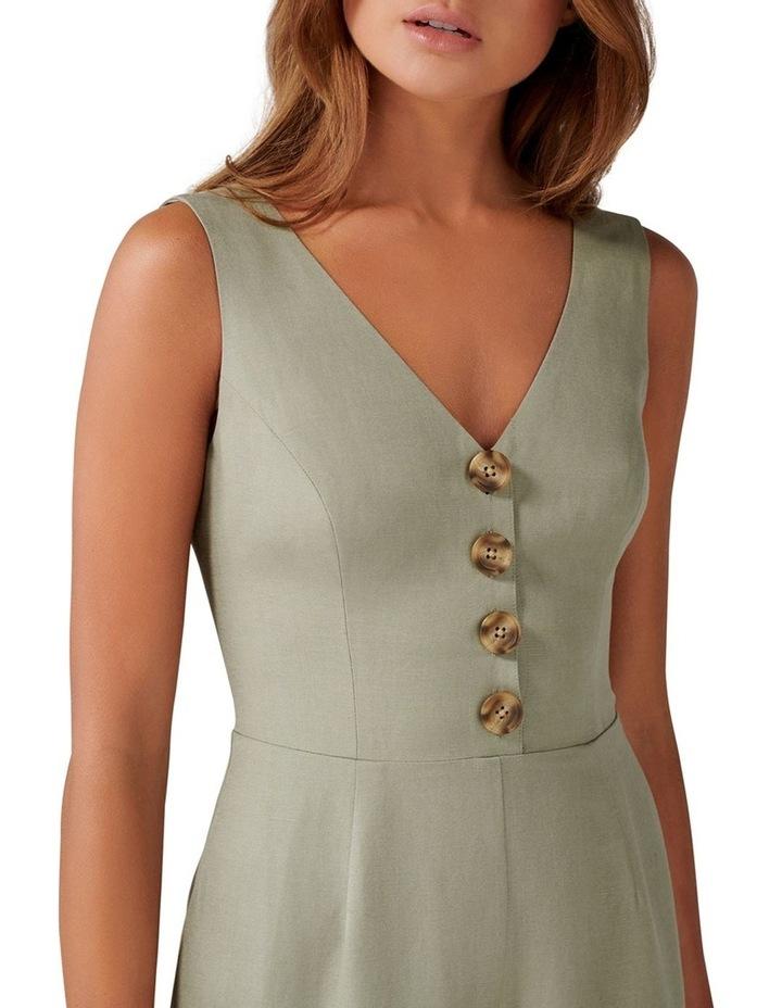 Clare Petite Button Front Jumpsuit image 2