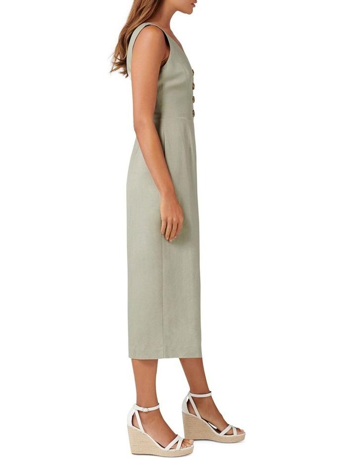 Clare Petite Button Front Jumpsuit image 3