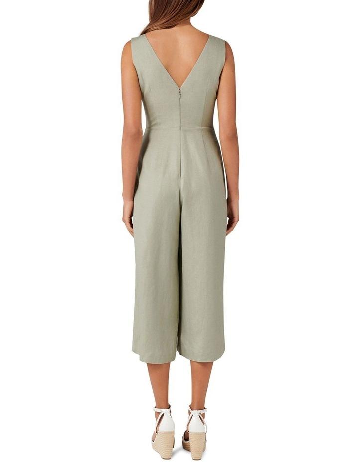 Clare Petite Button Front Jumpsuit image 4