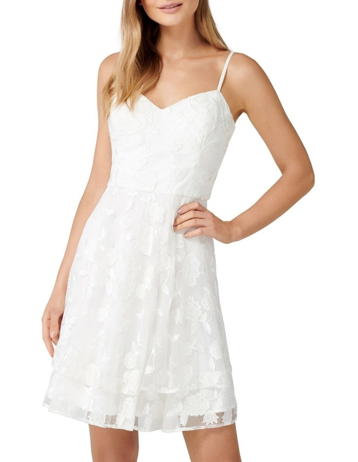 Annie Embroidered Soft Prom Dress image 1