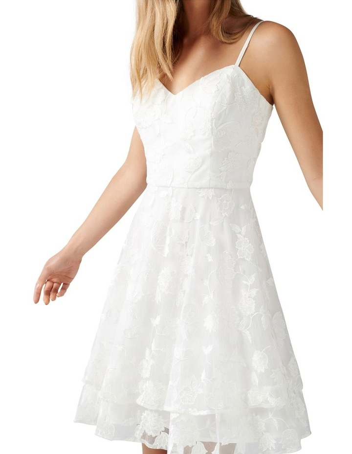 Annie Embroidered Soft Prom Dress image 2