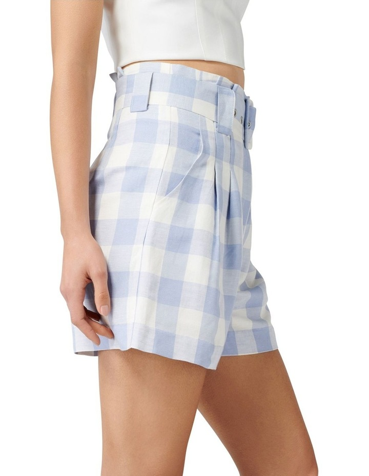 Laila Gingham Highwaist Shorts image 2