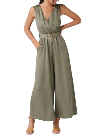 612f455ed5 Forever New Ashley Wrap Wide Leg Jumpsuit