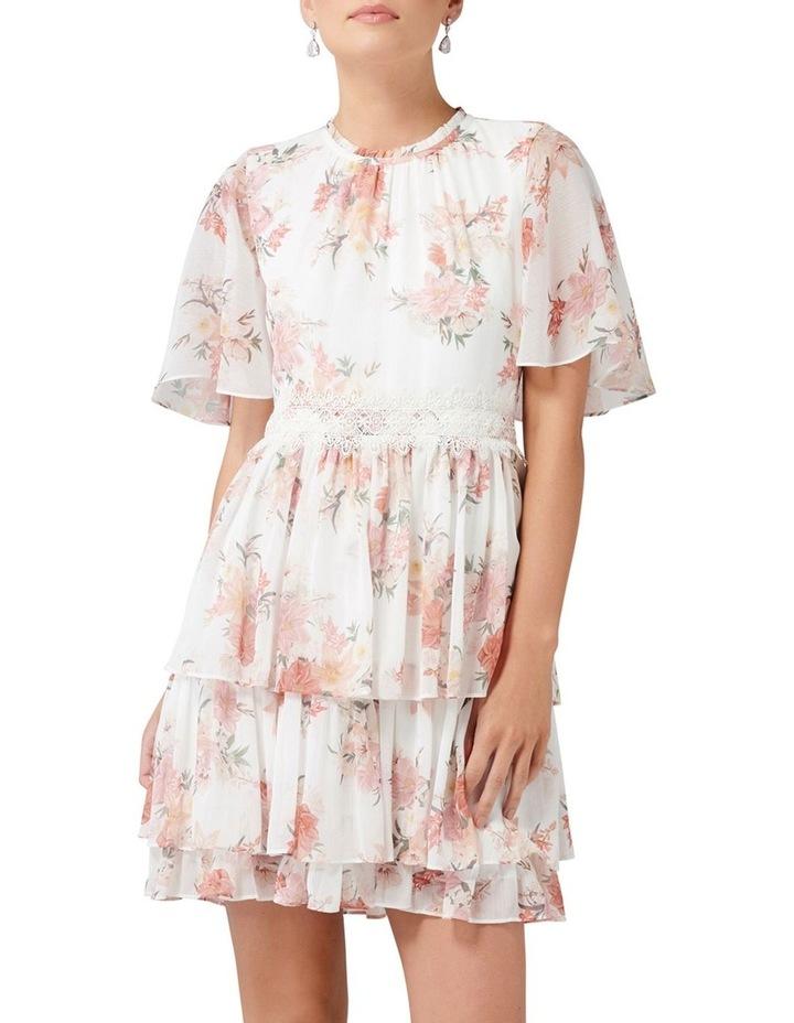 Lori Cape Sleeve Dress image 1