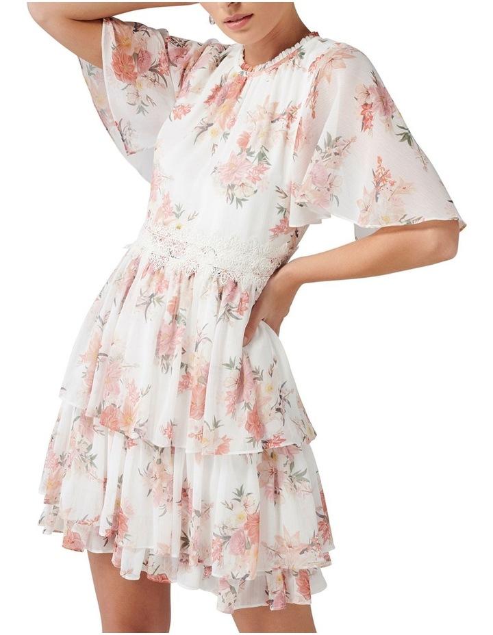 Lori Cape Sleeve Dress image 2