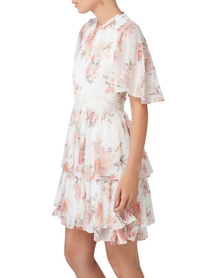 Lori Cape Sleeve Dress image 3