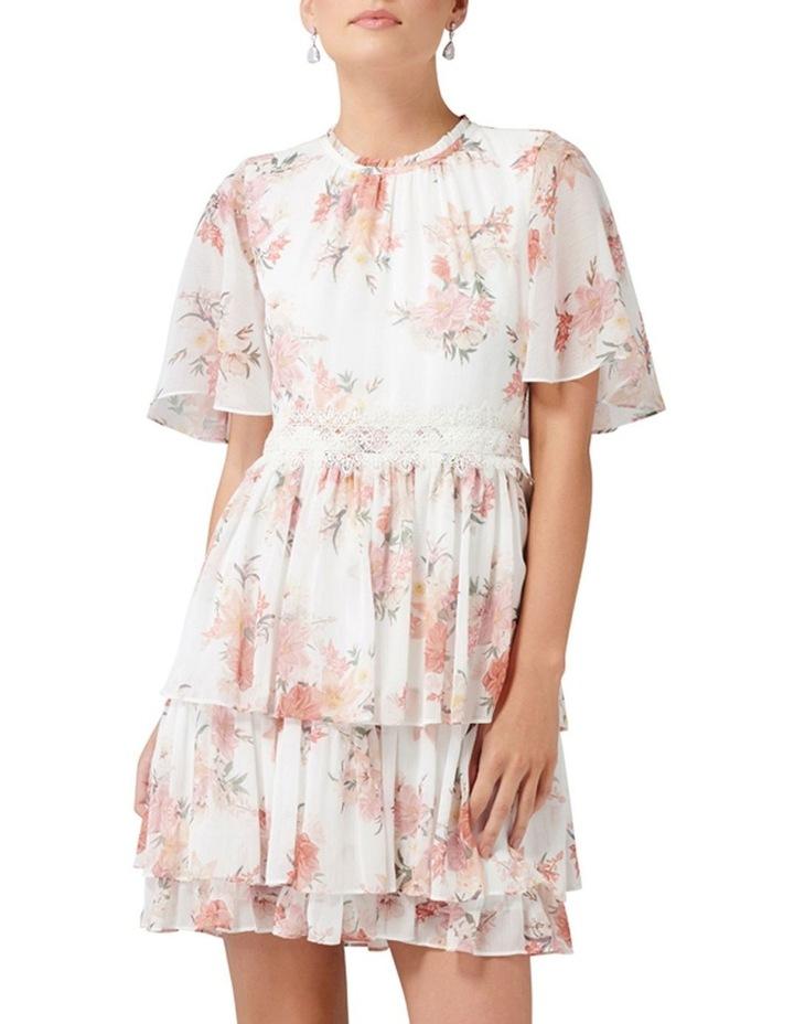 Lori Cape Sleeve Dress image 5