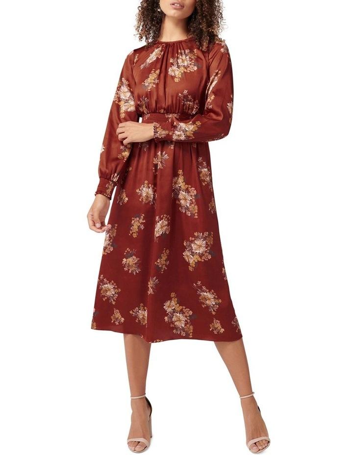 Shona Shirred Waist Midi Dress image 1