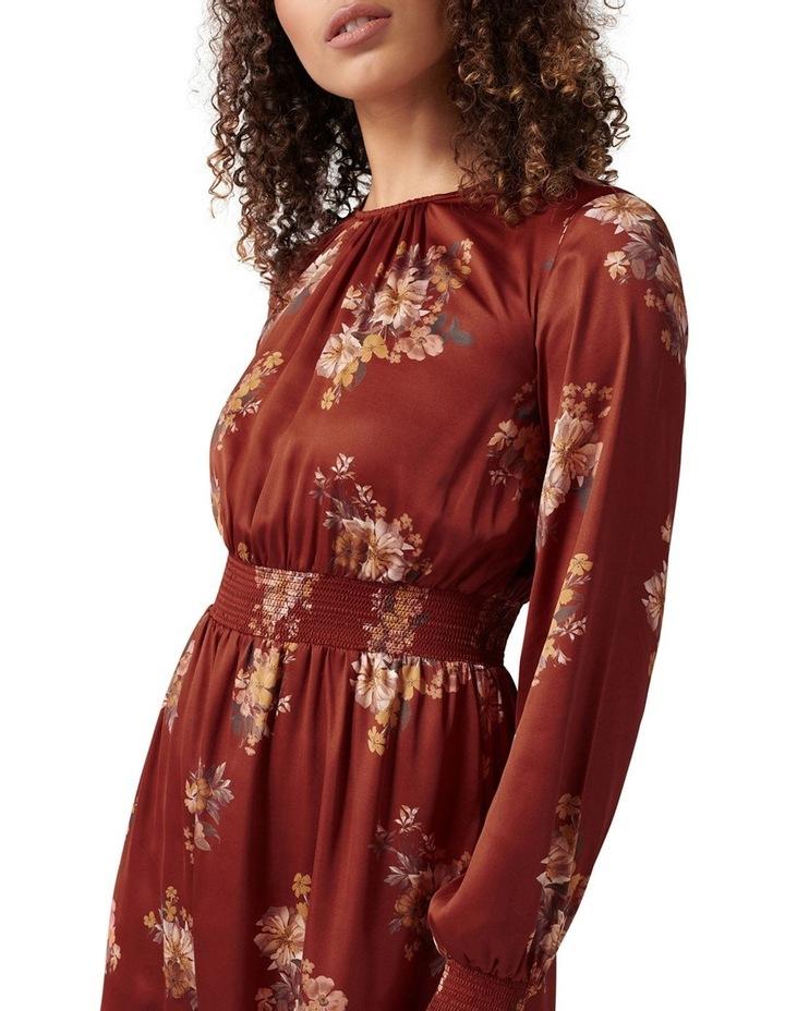 Shona Shirred Waist Midi Dress image 2