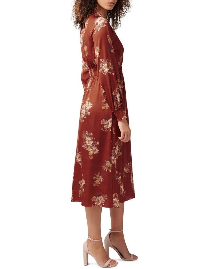 Shona Shirred Waist Midi Dress image 3