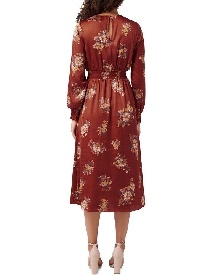 Shona Shirred Waist Midi Dress image 4