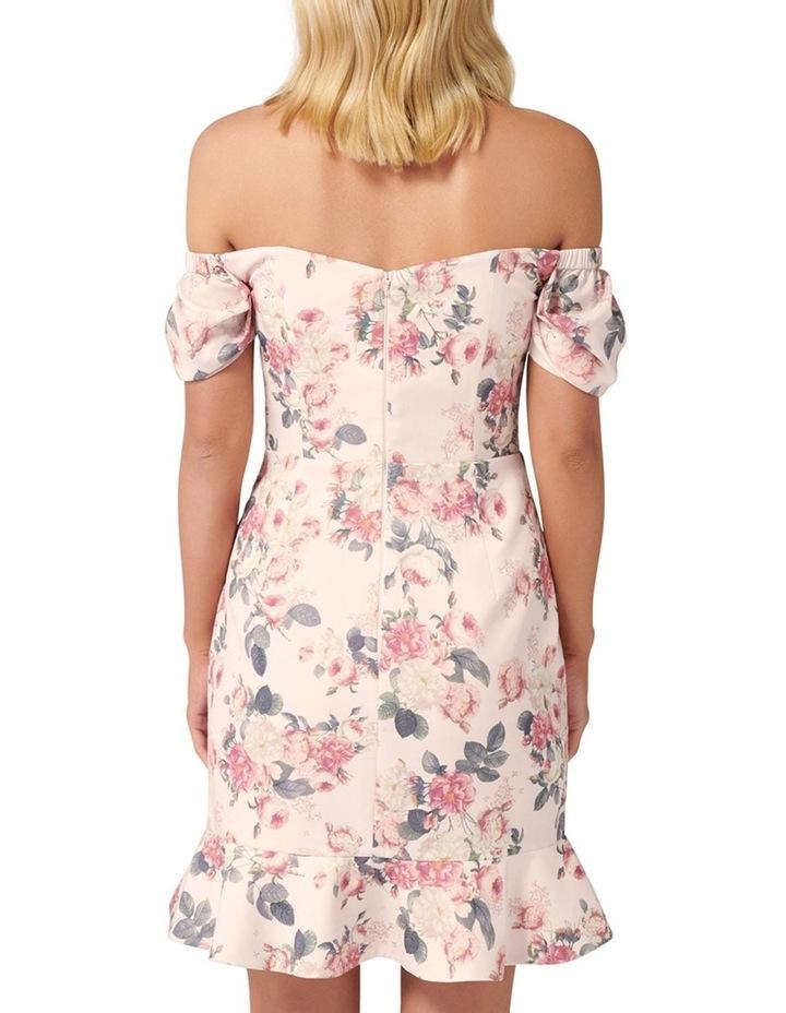 Malia Rouched Sleeve Mini Dress image 4