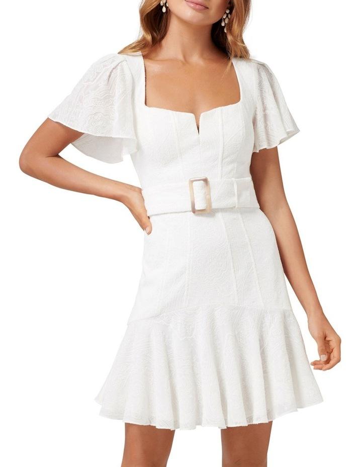 Esmerelda Embroidered Belted Dress image 1