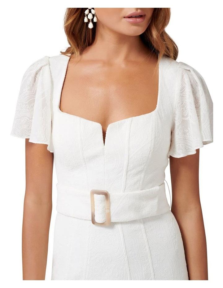 Esmerelda Embroidered Belted Dress image 2