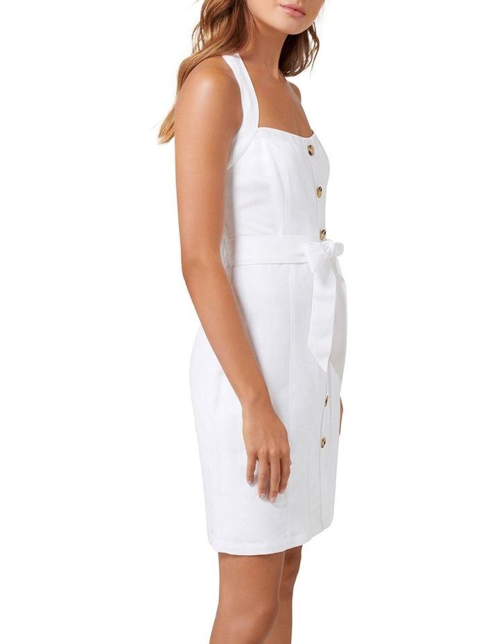 Piper Linen Halter Mini Dress image 3