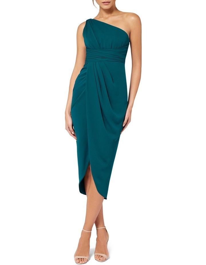 Mandy One Shoulder Drape Maxi Dress image 1