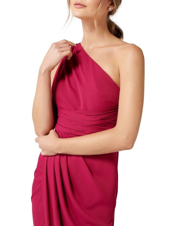 Mandy One Shoulder Drape Maxi Dress image 2