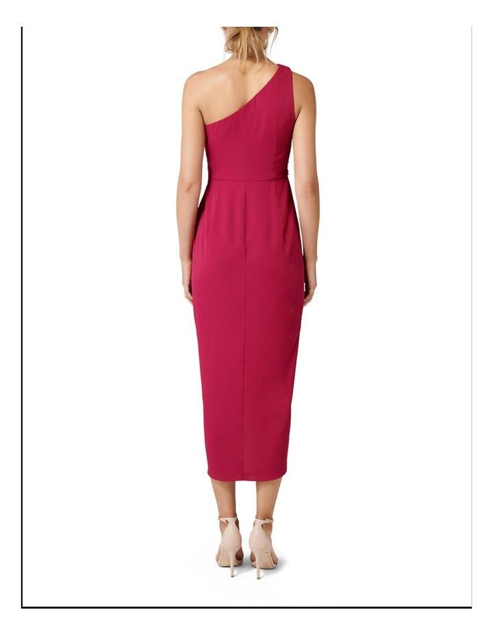 Mandy One Shoulder Drape Maxi Dress image 4