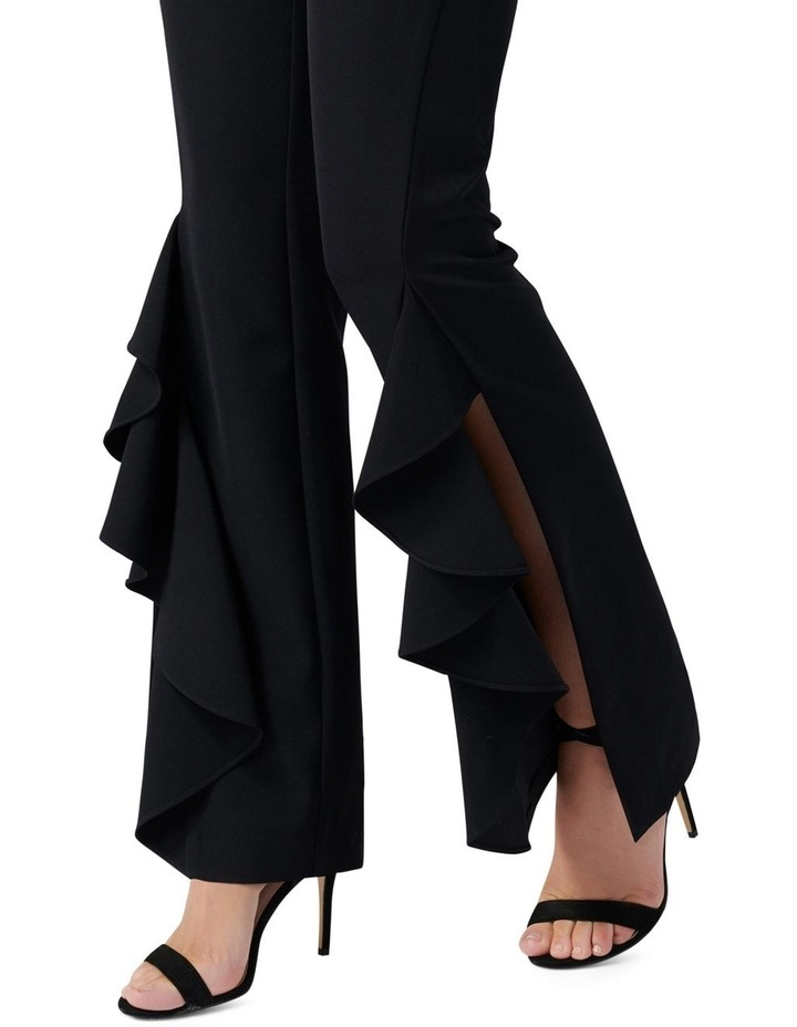 Dominique Ruffle Front Flare Pants image 2