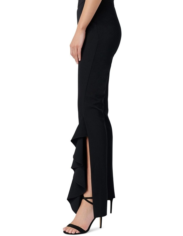 Dominique Ruffle Front Flare Pants image 3