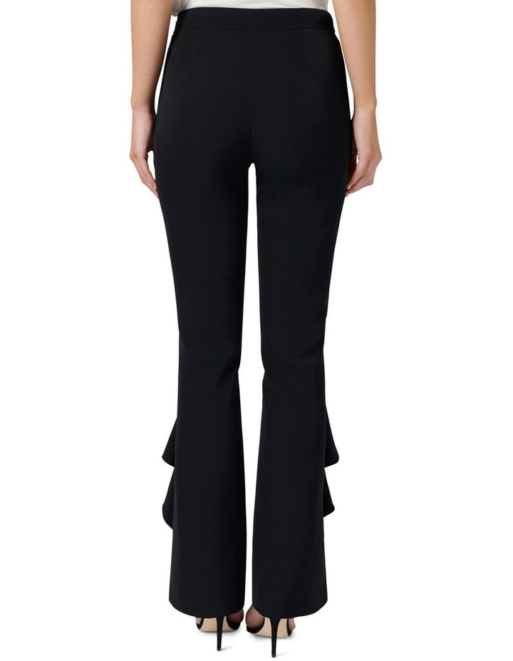 Dominique Ruffle Front Flare Pants image 4