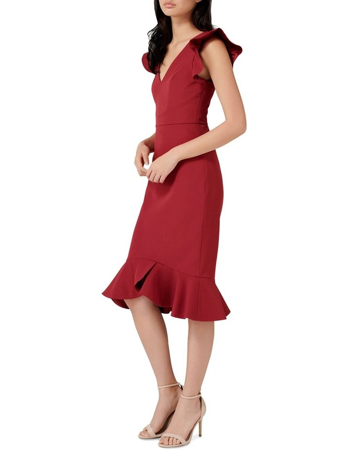 Montie Frill Sleeve Dress image 3
