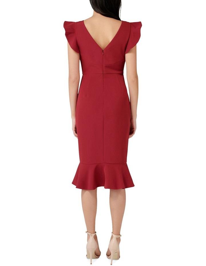 Montie Frill Sleeve Dress image 4