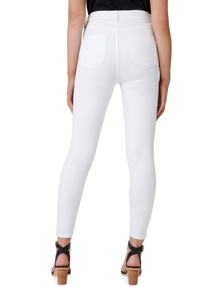 Kaia High Rise Crop Jeans image 3