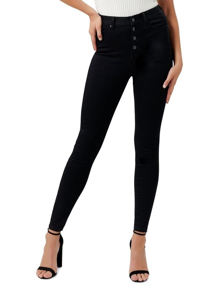 Heidi High Rise Ankle Grazer Jeans image 1