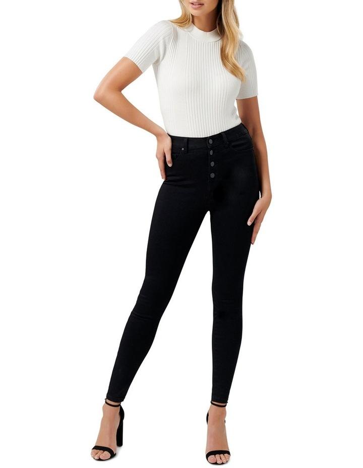 Heidi High Rise Ankle Grazer Jeans image 4