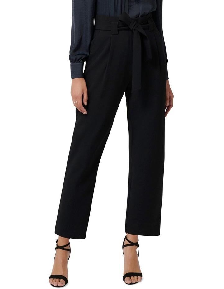 Natasha High-Waist Tie Front Pants image 1
