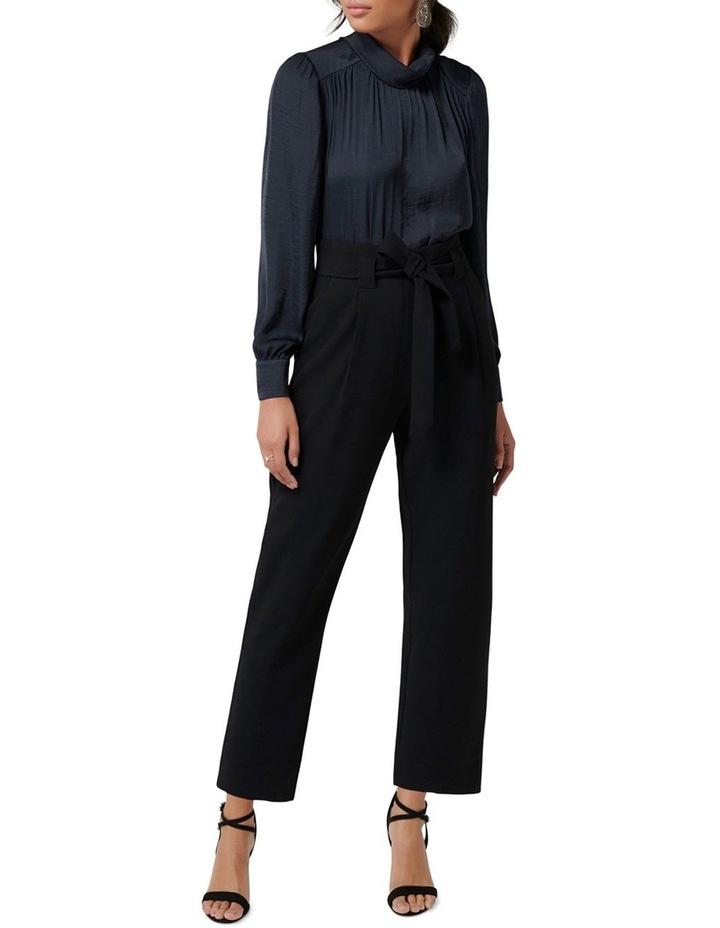 Natasha High-Waist Tie Front Pants image 4