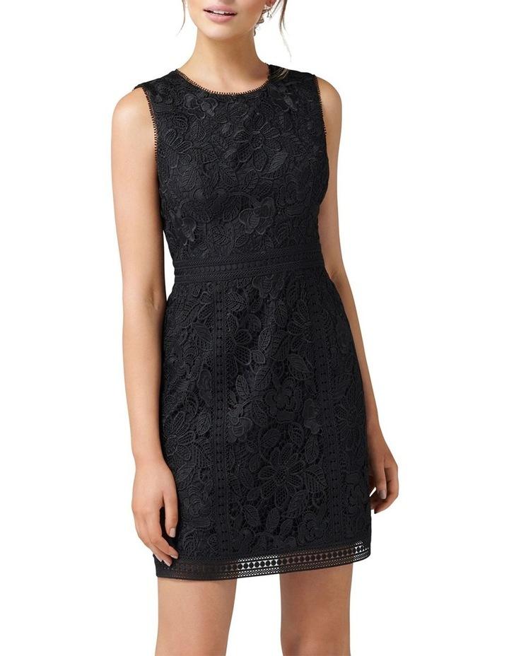 Callista Lace Trim Dress image 1
