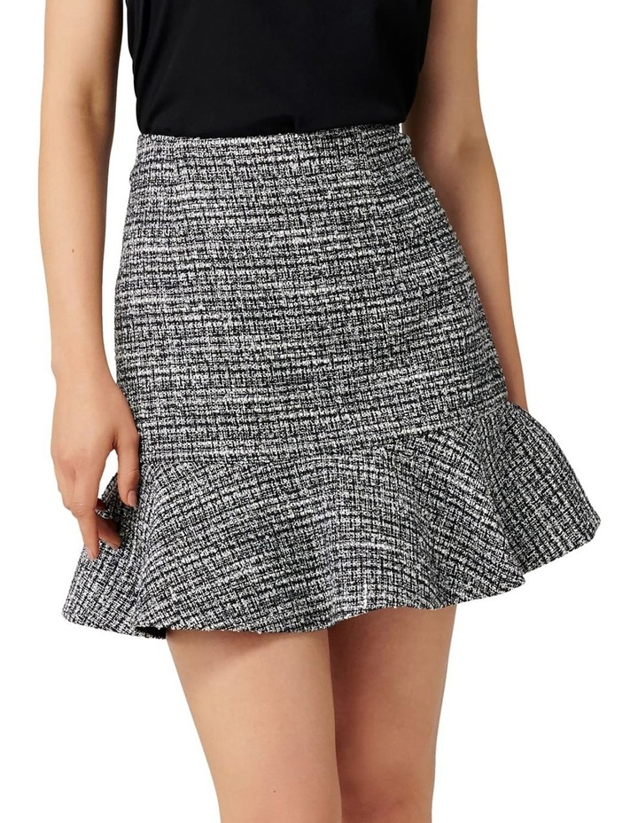 Kate Boucle Fit and Flare Skirt image 1